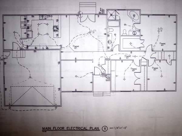 Residential Circuit Diagram Electrical Wiring Information ...