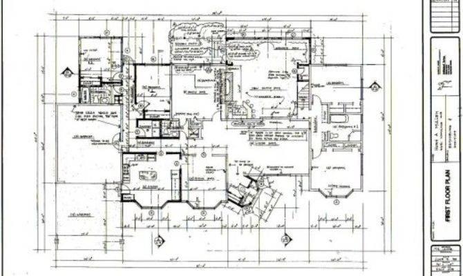 Residential Floor Plan House Plans