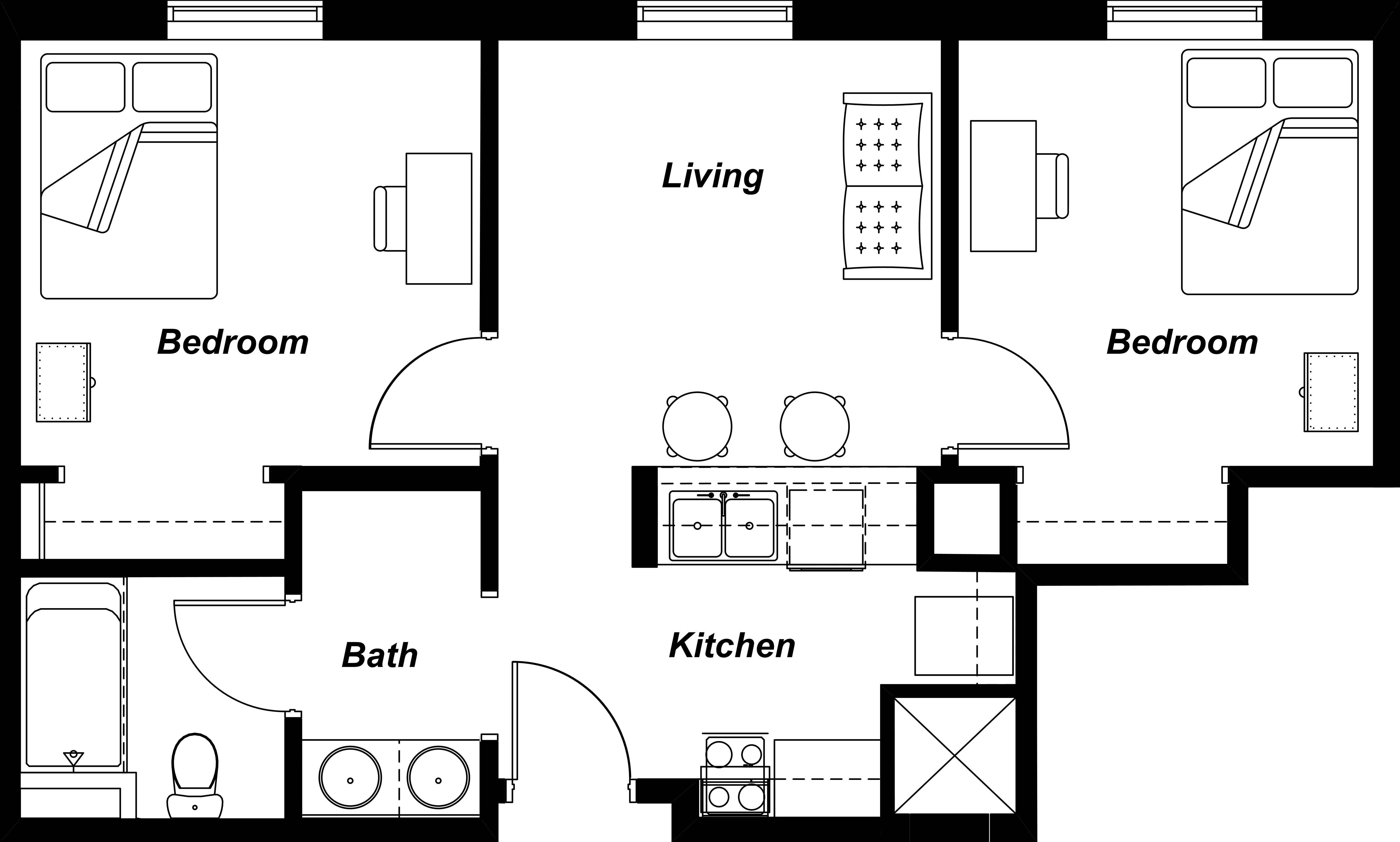Residential Floor Plans Home Design House Plans 121977