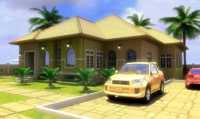 Residential Homes Public Designs Bedroom Bungalow