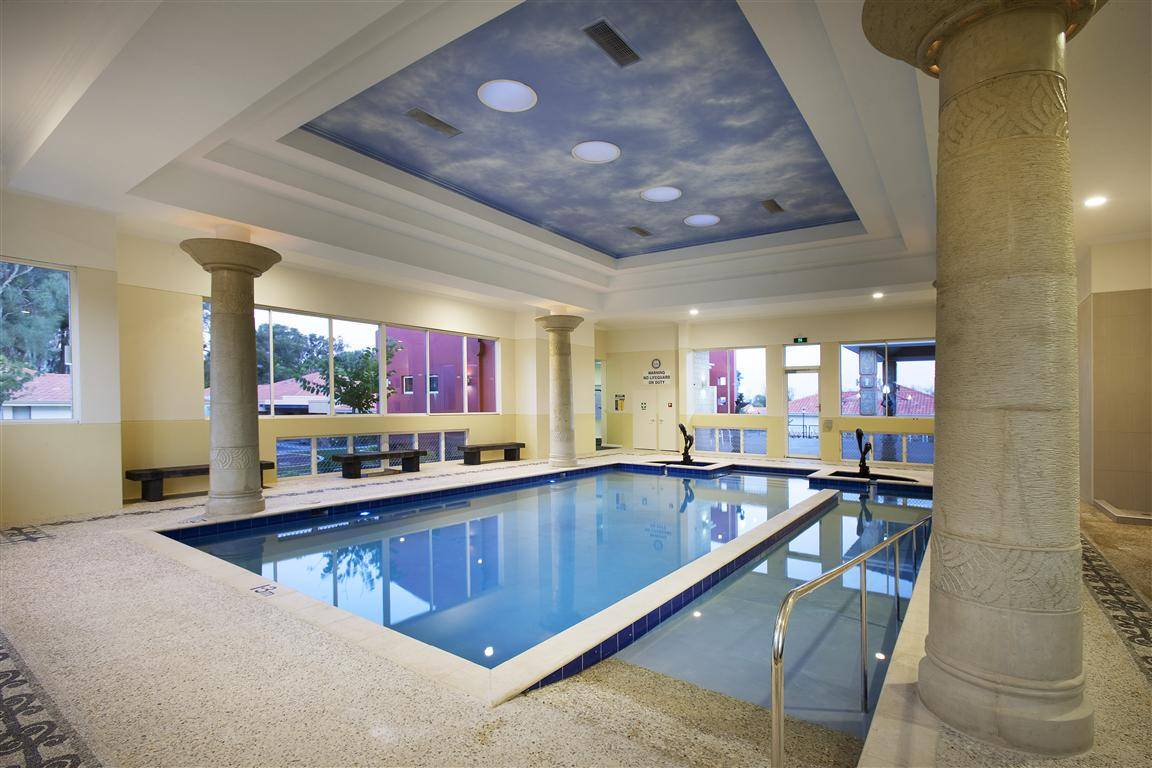 Residential Indoor Swimming Pool Designs House Plans 88354
