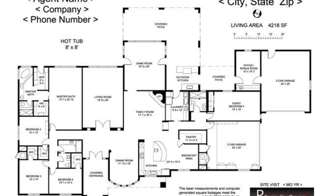 Residential Precision Floor Plan