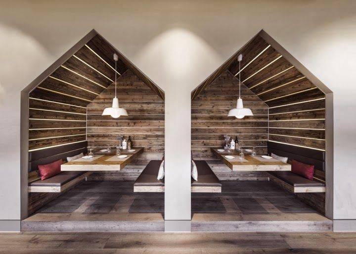 Restaurant Booth Interior Design Pinterest