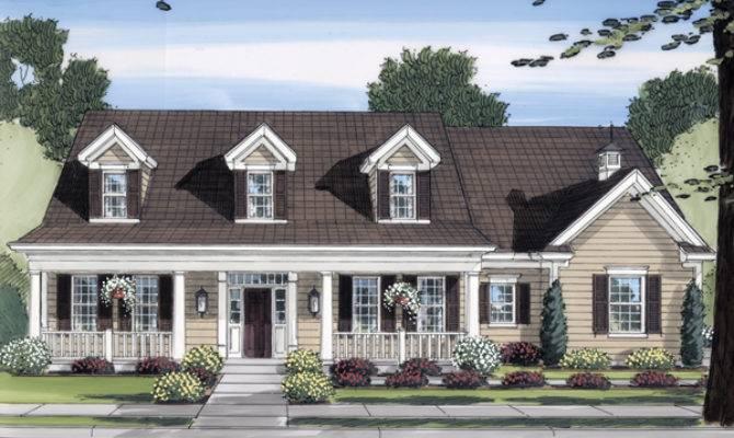Restormel Cape Cod Home Plan House Plans More