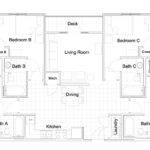 Retail Architecture Modern Apartment Blueprints Furniture