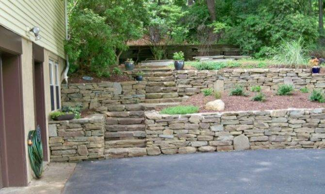 Retaining Wall Designs Ideas Tiered Design