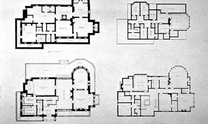 Richardsonian Romanesque House Plans Watts Sherman