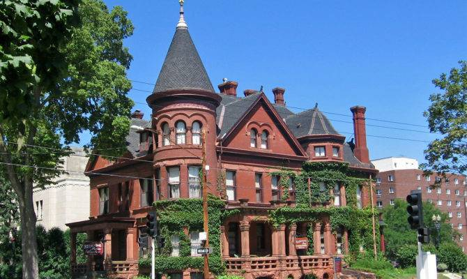 Richardsonian Romanesque Victorian House Dubuque