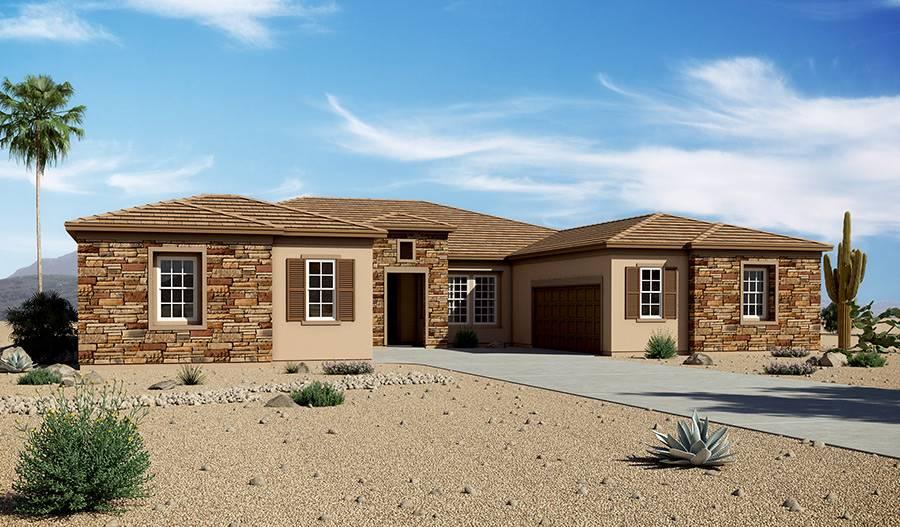 Richmond American Homes Floor Plans Arizona Home Design House Plans 147849
