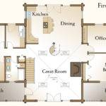 Richmond Log Home Floor Plans Custom Homes