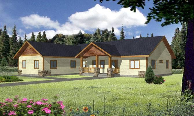 Ridgedale Rustic Ranch Home Plan House Plans