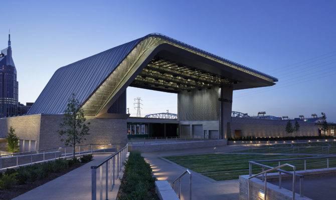 Riverfront Park Ascend Amphitheater Architect Magazine