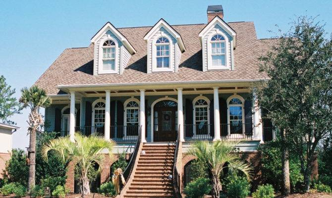 Rivergate Lowcountry Home Plan House Plans