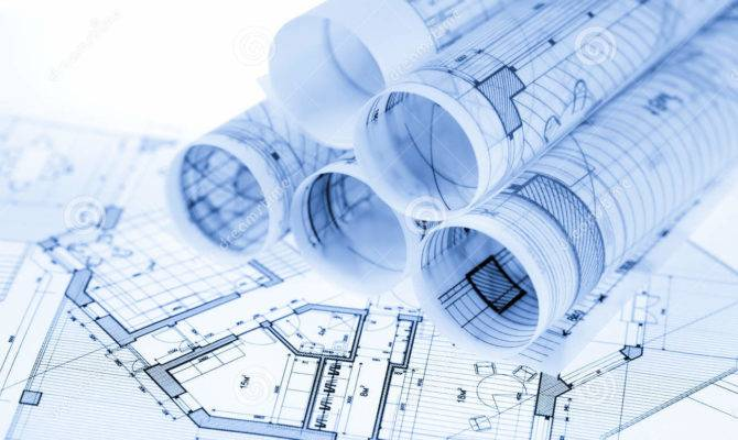 Rolls Architecture Blueprints Illustration
