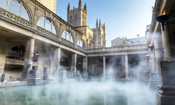Roman Baths Bath Tourism Accommodation Restaurants