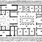 Roman Domus Floor Plan Ground House