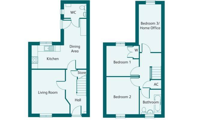 Roman Home Floorplan Iii