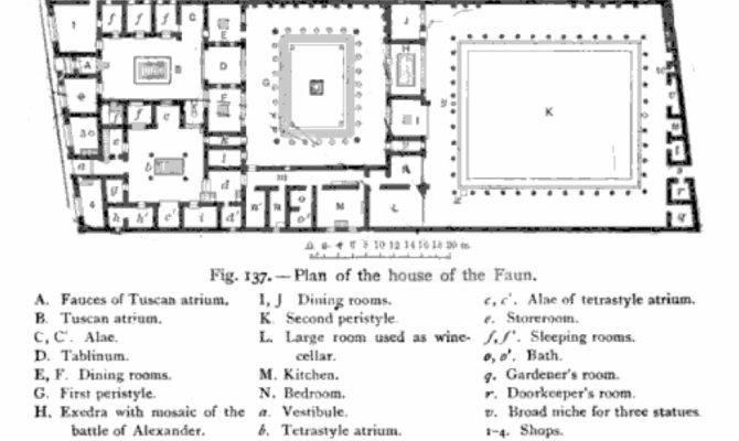 Roman Insula Floor Plan More Information