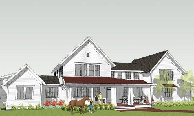 Ron Brenner Architects New Modern Farmhouse Design Completed
