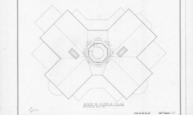 Roof Cupola Plan Cooleemee Plantation Davie County North