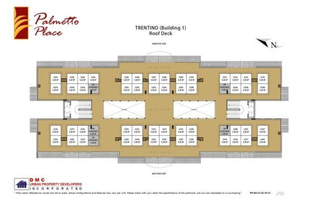 Roof Deck Floor Plan