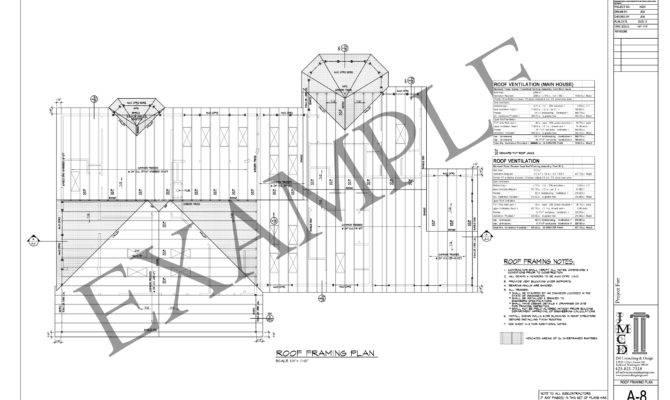 Roof Framing Plan