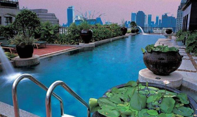 Rooftop Pool Garden Ideas Kitchentoday