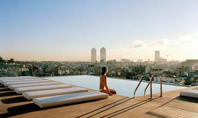 Rooftop Pools Barcelona Top Suitelife