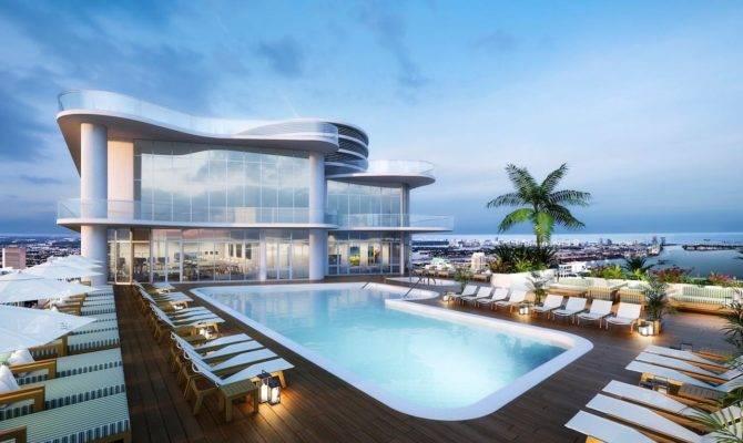 Rooftop Pools Make Your Head Swim