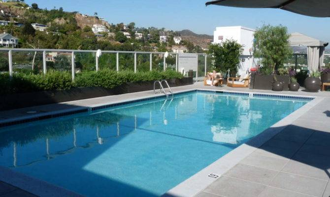 Rooftop Swimming Pool Design Ideas Kitchentoday House Plans 104581