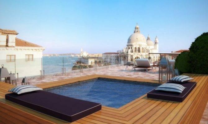 Rooftop Swimming Pool Design