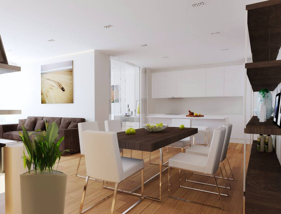 Room Ideas Dining Open Plan Kitchen Living - House Plans  #28