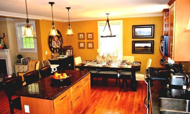 Room Kitchen Open Floor Plan Trend Home Design Decor