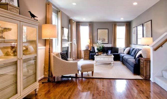 Room Long Living Layout Design Pinterest