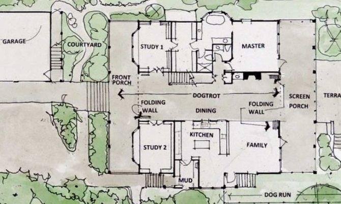 Rooms Dogtrot House Plans Dog Trot Floors Home