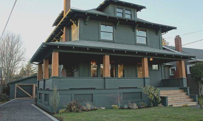 Roots Style Eclectic American Foursquare