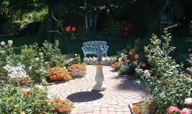 Rose Garden Design Idea Victory Pinterest
