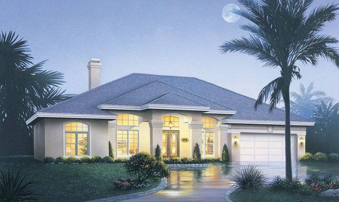 Rose Way Florida Style Home Plan House Plans