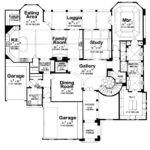 Roselawn Adobe Southwestern Home Plan House Plans More
