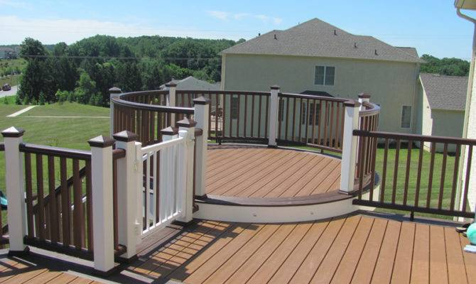 Round Deck Designs Amazing Decks