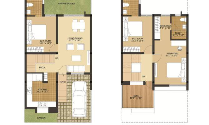 Row House Plans Arun Excello Temple Green Proptalkies