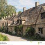 Row Traditional English Cottages