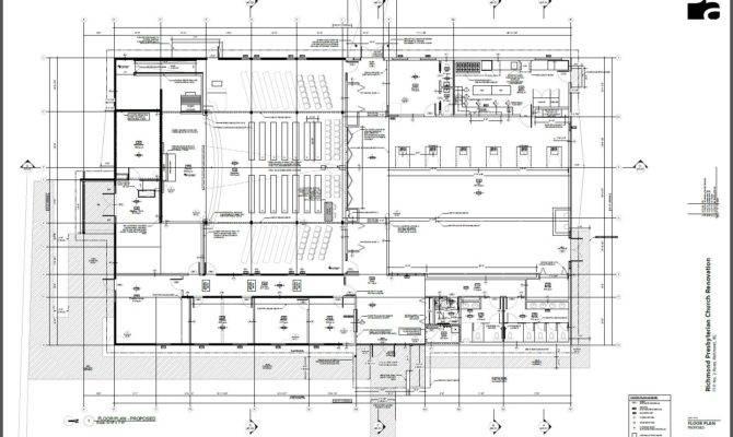 Rpc Architectural Floor Plan Richmond Presbyterian Church