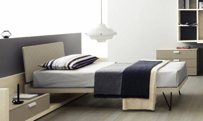 Ruler Contemporary Single Bed Modern Beds