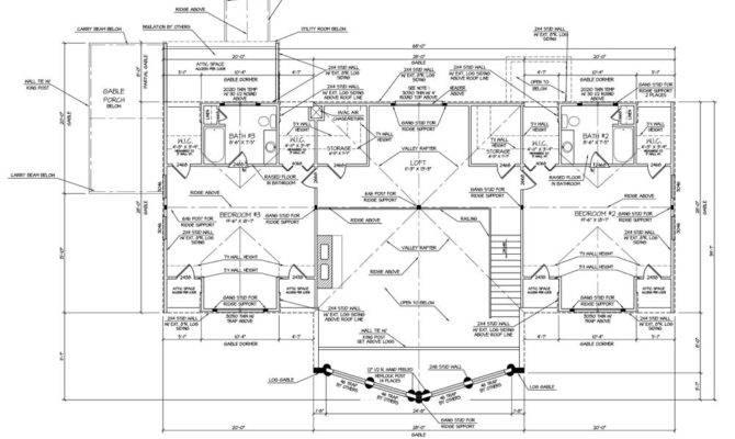 Runner Best Multi Level Log Home Plan Barna Homes