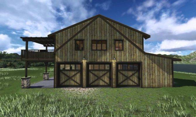 Rustic Barn Style House Plans Home