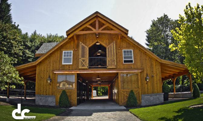 Rustic Barn Style House Plans
