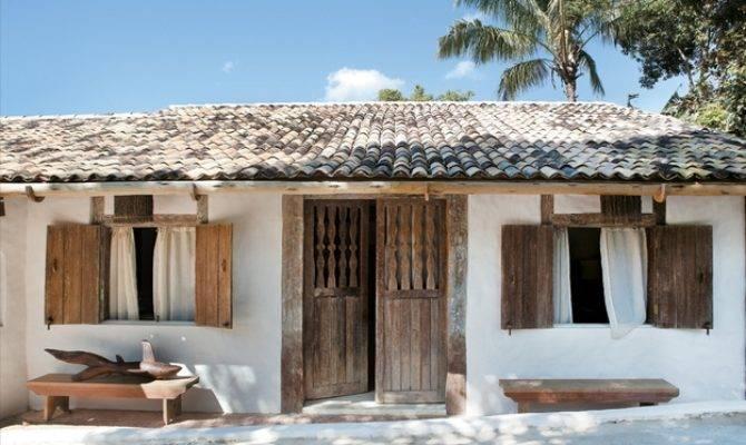 Rustic Beach House Bahia Brazil Lush Luxe