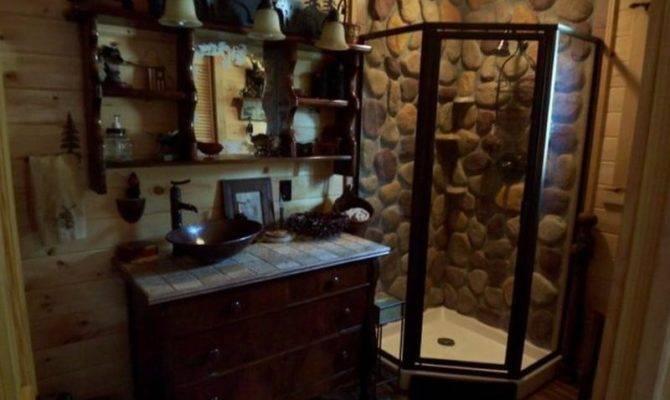 Rustic Cabin Bathroom Decor Ideas