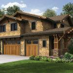 Rustic Carriage House Plan Architectural